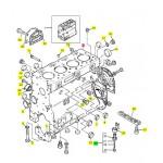 Блок двигуна Perkins ZZ50300