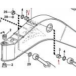 Втулка (85X70X70) Volvo 14370686