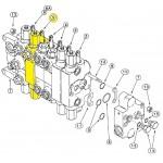 Гідравлічний клапан (стріла) 144321A6