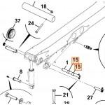 Втулка (проставка пальця) JCB 334/G6204